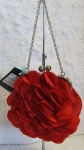 Red Rose Petal Evening Clutch